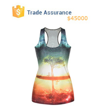 2015 New Women Summer T-shirt Womens Tank top 3D Print