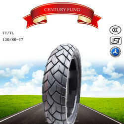 2015 taiwan quality Motorcycle tubeless Tyre 130/80-17 made in china