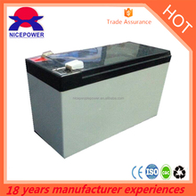 Nice people power 12V17AH ups lead acid Battery supplier in guangzhou