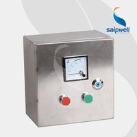 Saip Saipwell OEM ODM Custom Waterproof Control Box Project Enclosure Electrical Equipment Outdoor Industrial Control Box