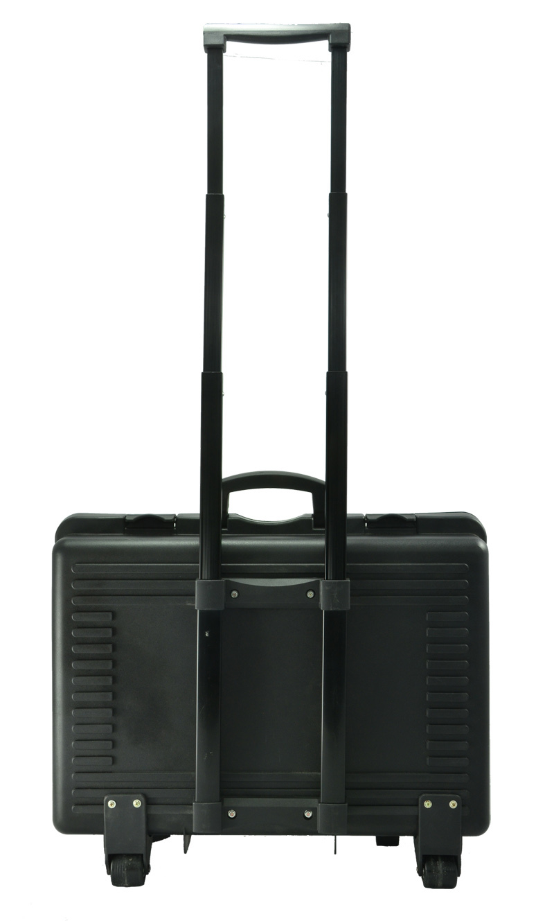 Plastic case with Trolley