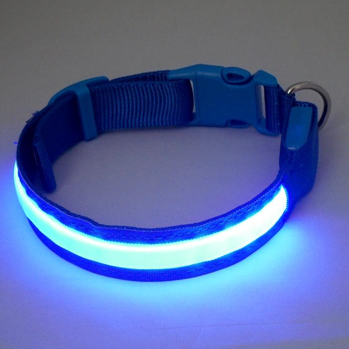 Design New Super Bright Nylon LED dog collar .jpg