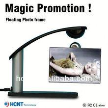 Magical!!Magnetic floating levitating photo frame ,photo frame with pen holder