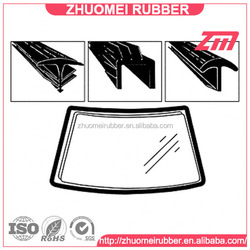 weather proof rubber extruded windscreen glazing wedge
