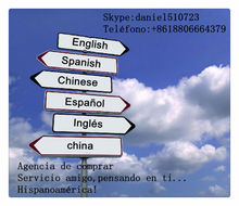 translator and interpreter english spanish and business assistant in Shenzhen USD50/ day