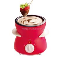 Mini hot chocolate melting pot/colored chocolate fondue sale