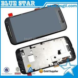 For Motorola MOTO G2 XT1063 XT1068 XT1069 LCD With Frame, LCD Screen Display For MOTO G2 LCD Touch Screen Digitizer Assembly