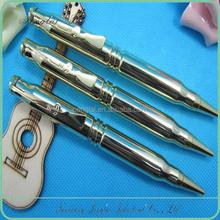 new style brass ballpoint bullet pen for gun
