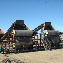 High intensity dry magnetic separator with 4000-8000Gauss