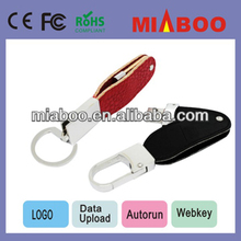 2013 super quality! real original chips usb leather,free embossing Secure storage promotion usb,Encrypt usb 3.0