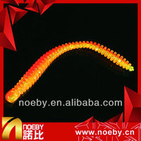 NOEBY double-color fragrance saltwater fishing lure marine worm bait