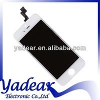 FOR APPLE IPHONE 5S LCD SCREEN DIGITIZER INCLUDES CAMERA, EARPIECE, SENSOR