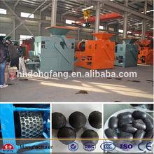 factory supply iron/coal powder/coal dust briquette machine price