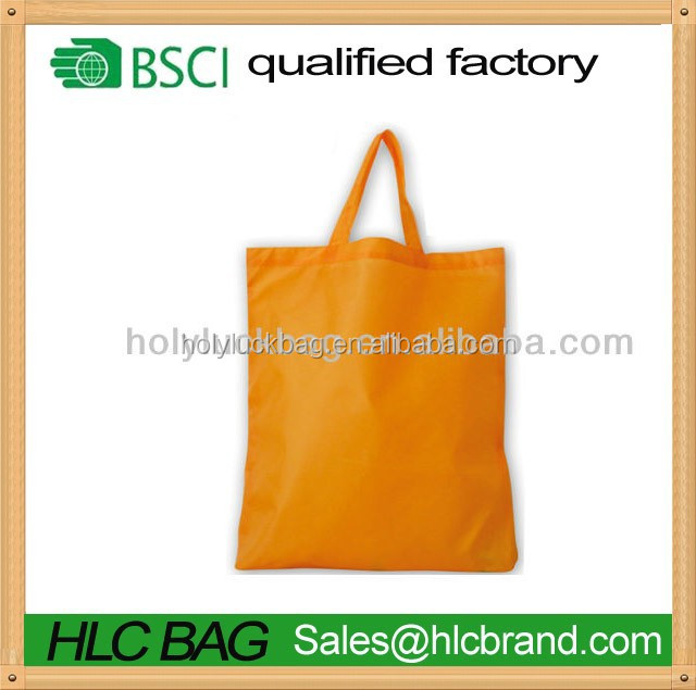 2015 Polyester cheap folding shopping bag