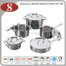 10Pcs Contemporary german look cookware