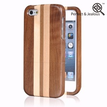 Top quality New fashinable carving us flag natural wood bamboo wooden hard case cover for iphone 5g
