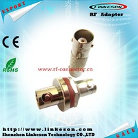 BNC female to BNC female bulkhead straight vga rf adapter