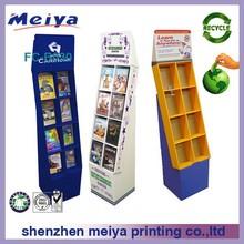 China shenzhen custom cardboard display stand book shelf