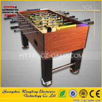 2 Player coin operated table football kicker football game