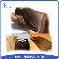 Ali Best Seller Double Drawn Remy Human virgin pu skin hair , 100% human hair High Quality Tape Hair Extension