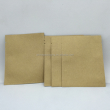 Stand up kraft paper bag with aluminum foil for coffee