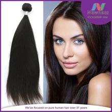 Free Shipping 22 inch Brazilian Virgin Hair Human Hair Extension Silky Straight clip in hair extensions