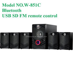 Big heavy subwoofers for Karaoke / Home Theater System with USB/SD/FM/Led Display/Remote Control