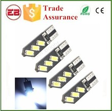 T10 LED Car Light Bright Double No Error 12V 194 168 W5W Lamps Canbus 3 SMD 5730 LED Parking Width Interior Bulb Lights