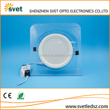 Led Lights Homes Glass Round 12w Led Panel Light,Made In China