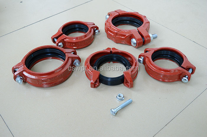Wholesale ul fm approved ductile iron flange adapter for