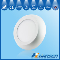 IP44 IP65 15w 7.5inch CE ETL ROHS SAA new modern round surface mounted led green ceiling warm white outdoor work panel light