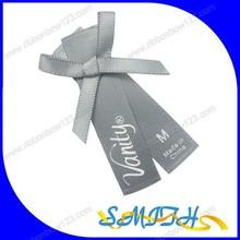 MSD wholesale Bottle Ribbon Bow packing print logo