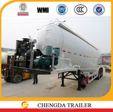 good marketing new design bulk cement transport used powder tanker semi trailer