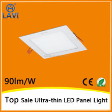 decoration lighting good quality white square led ceiling panel light from china