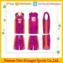 Excellent quality promotional cheap custom basketball warm up top