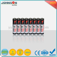 R03 heavy duty aaa um-4 disposale dry cell battery