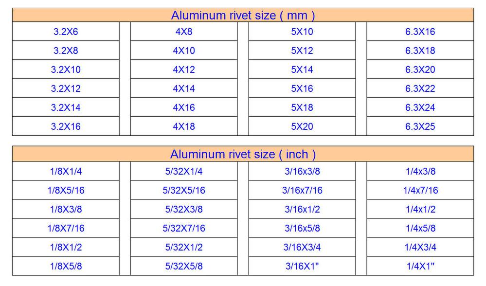 Countersunk Head Semi Tubular Rivets - Buy Countersunk Head Rivets ...