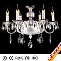 venda quente clássico lustre de cristal de luz popular para a decoração do casamento