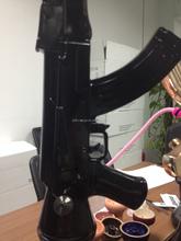 Wholesale gun shape resin ak 47 hookah hand gun hookah