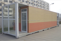 China 20ft Prefab container home for sale /Modern prefabricated container house price/luxury shipping container home price