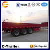 China High Quality 3 Axles 40Tons Cargo Trailer