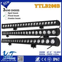 YTLB200B 200w Best sales Truck accessories Professional outdoor led Emergency Warning Led Light Bar