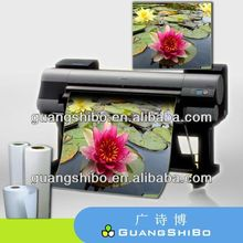 Large Format high glossy inkjet photo paper roll cast coated 24/36/42'' wide format digital proofing paper