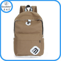 Canvas Old School Vintage Shoulder Bags for College Students fit Laptop