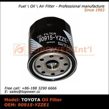 90915-YZZE1 hebei oil filter for Japanese car