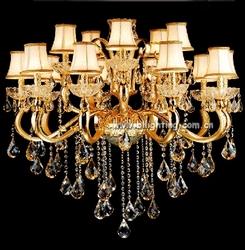 hanging light in zhongshan lighting factory luster crystal chandelier