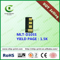 2015 Hot sell! reset chip toner chips for samsung mlt-d105s chip reset