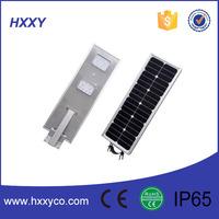 All in one Solar Power roadway design 20W IP66 Module LED Street Light Price sun panel light garden