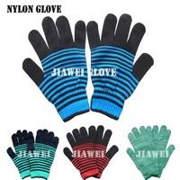 Nylon Knitting Gloves Pretty Nylon Gloves Lady Nylon Gloves/Guantes 06