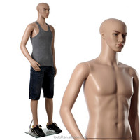 Adjustable head plastic cheap cheap cheap full body male mannequin for sale